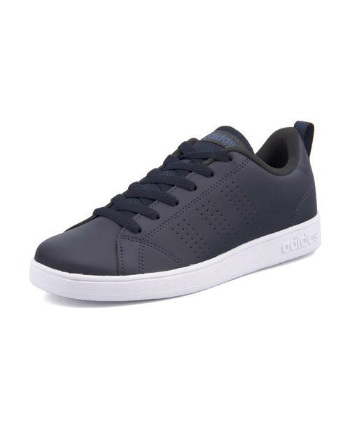 adidas(アディダス) VALCLEAN2 K(バルクリーン2K) DB1936 カレッジネイビー/トレースロイヤル/ランニングホワイト|バーゲン