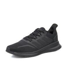 adidas(アディダス) FALCONRUN M メンズスニーカー(ファルコンランM) G28970 コアブラック/コアブラック/コアブラック