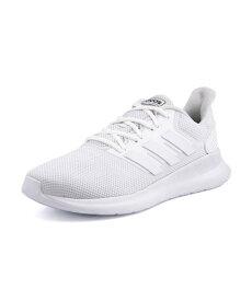 adidas(アディダス) FALCONRUN M メンズスニーカー(ファルコンランM) G28971 ランニングホワイト/ランニングホワイト/ランニングホワイト