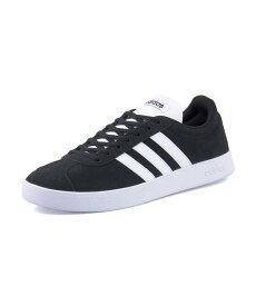 adidas(アディダス) VL COURT 2.0 U(VLコート2.0U) DA9853 コアブラック/ランニングホワイト/ランニングホワイト【メンズ】