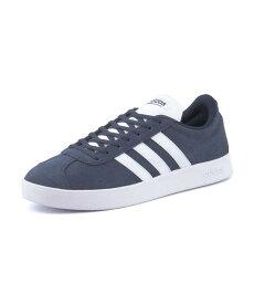 adidas(アディダス) VL COURT 2.0 U(VLコート2.0U) DA9854 カレッジネイビー/ランニングホワイト/ランニングホワイト【メンズ】