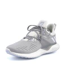 adidas(アディダス) ALPHABOUNCE BEYOND 2 M メンズスニーカー(アルファバウンスビヨンド2M) BD7095 ランニングホワイト/ランニングホワイト/グレーTWO
