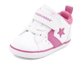 converse(コンバース) MINI P-L N(ミニP-LN) 7CK175 ホワイト/ピンク