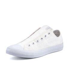 converse(コンバース) NEXTAR110 SLIP OX(ネクスター110スリップOX) 32765380 ホワイトモノ