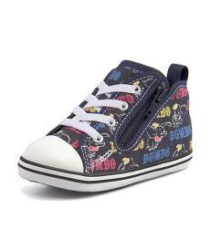 converse(コンバース) BABY ALL STAR N DUMBO PT Z ベビースニーカー(ベビーオールスターNダンボPTZ) 7CL478 ネイビー