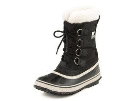 SOREL(ソレル) WINTER CARNIVAL(ウィンターカーニバル) NL1495 011 ブラック/ストーン | ブーツ ウィンターブーツ 防寒ブーツ ミドルブーツ スノーブーツ ウインターブーツ 雪 冬 雪道 レディース 靴 シューズ 冬用 レディースブーツ 防寒靴 防寒シューズ