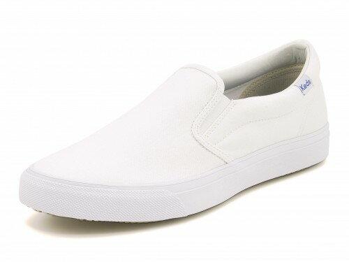Keds(ケッズ) ANCHOR SLIP ON(アンカースリッポン) 637701 ホワイト【レディース】 | 靴 シューズ スニーカー レディースシューズ ローカット ローカットスニーカー レディーススニーカー 女性 レディス ブランド レディススニーカー レディース靴 くつ 女性スニーカー