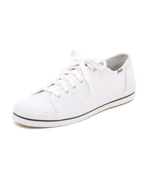 Keds(ケッズ) KICKSTART SEASONAL SOLID(キックスタートシーズナルソリッド) 372205 ホワイト | 靴 シューズ スニーカー レディース レディースシューズ ローカット ローカットスニーカー レディーススニーカー 女性 レディス ブランド レディススニーカー レディース靴