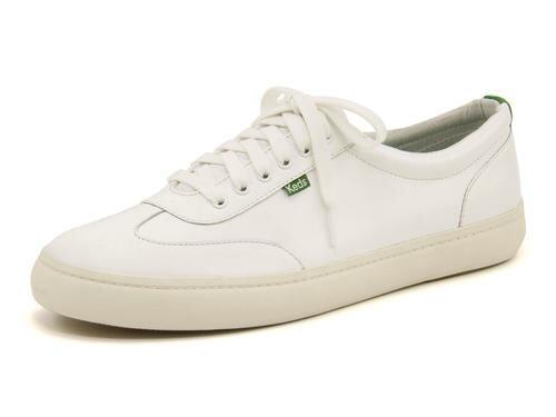 Keds(ケッズ) TOURNAMENT LEATHER(トーナメントレザー) 377201 ホワイト/グリーン | シューズ スニーカー 靴 メンズ ローカット ローカットスニーカー メンズスニーカー メンズシューズ カジュアルシューズ カジュアル ローカットシューズ ブランド 白 ブランドスニーカー