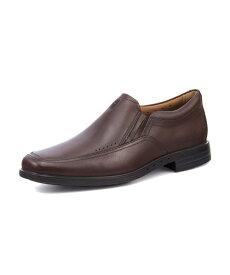 Clarks クラークス UNBRYLAN LANE 通気性 アンブライアンレーン 127875 ブラウンレザー メンズ シューズ 靴 ビジネスシューズ レースアップ ローファー スリッポン Uチップ