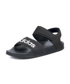 adidas アディダス ADILETTE SANDAL K キッズサンダル 超軽量 アディレッタサンダルK G26879 コアブラック フットウェアホワイト キッズ シューズ 靴 サンダル ボーイズ ブランド ギフト