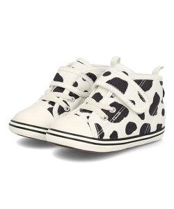 converse コンバース BABY ALL STAR N COWSPOT V-1 ベビーシューズ ベビーオールスターNカウスポット 7CL870 ホワイト キッズ シューズ 靴 スニーカー ベビー ブランド ギフト