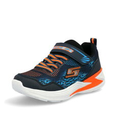 SKECHERS スケッチャーズ S LIGHTS-ERUPTERS 3-DERLO キッズスニーカー【光る靴】(Sライツイラプターズ3デルロ) 90563L NVOR ネイビー/オレンジ