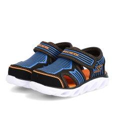 【クーポン配布中】SKECHERS スケッチャーズ S LIGHTS-HYPNO-SPLASH-ZOTEX キッズサンダル 光る靴 Sライトヒプノスプラッシュゾテックス 90524N BBOR ブラック ブルー オレンジ キッズ シューズ 靴 サンダル ベビー