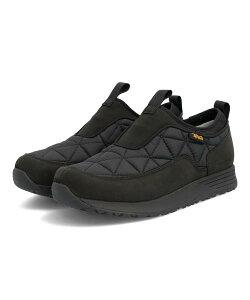 Teva テバ W EMBER COMMUTE SLIP-ON WP レディーススニーカー 防水 レディースエンバーコミュートスリッポンウォータープルーフ 1116050 BLK ブラック レディース シューズ 靴 スニーカー レインシュー