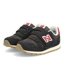 new balance ニューバランス IZ373 ベビーシューズ 330373 HL2 [GF] ブラック レッド キッズ シューズ 靴 スニーカー ベビー ブランド ギフト