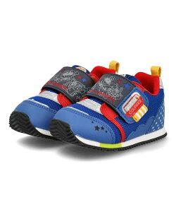 アンパンマン ベビー シューズ APM B35 ブルー キッズ 靴 スニーカー ベビー ブランド ギフト プレゼント ラッピング ASBee アスビー