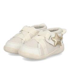 IFME イフミー ベビー シューズ 20-1804 EC ホワイト キッズ 靴 スニーカー ブランド ギフト プレゼント ラッピング ASBee アスビー