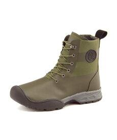 Coleman(コールマン) 【防水/滑りにくい】FIELD BOOTS(フィールドブーツ) 579304 カーキ   ブーツ メンズ アウトドア メンズブーツ 防水ブーツ アウトドアシューズ カジュアルブーツ 防滑 シューズ 靴 メンズシューズ カジュアルシューズ カジュアル ブランド メンズくつ