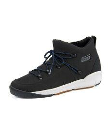 Coleman(コールマン) BRETTON WOODS【耐水/滑りにくい】(ブレトンウッズ) 587400 ブラック   ブーツ メンズ アウトドア メンズブーツ アウトドアシューズ カジュアルブーツ 防滑 シューズ 靴 メンズシューズ カジュアルシューズ カジュアル ブランド メンズくつ 黒