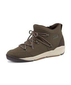 Coleman(コールマン) BRETTON WOODS【耐水/滑りにくい】(ブレトンウッズ) 587400 カーキ   ブーツ メンズ アウトドア メンズブーツ アウトドアシューズ カジュアルブーツ 防滑 シューズ 靴 メンズシューズ カジュアルシューズ カジュアル ブランド メンズくつ