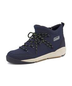 Coleman(コールマン) BRETTON WOODS【耐水/滑りにくい】(ブレトンウッズ) 587400 ネイビー   ブーツ メンズ アウトドア メンズブーツ アウトドアシューズ カジュアルブーツ 防滑 シューズ 靴 メンズシューズ カジュアルシューズ カジュアル ブランド メンズくつ