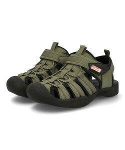 【クーポン配布中】Coleman コールマン EAGLE キッズアウトドアサンダル イーグル 809142 カーキグリーン キッズ シューズ 靴 サンダル ボーイズ ブランド ギフト