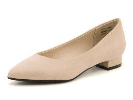 Feminine Cafe(フェミニンカフェ) レディース ローヒールパンプス 1771 ベージュ   靴 シューズ くつ パンプス カジュアル カジュアルパンプス レディースシューズ カジュアルシューズ ローヒール レディースパンプス 女性 レディース靴 カジュアル靴