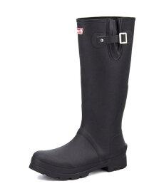 Coleman(コールマン) メンズ レインブーツ【滑りにくい/屈曲性】 913214 ブラック | 長靴 レイン ブーツ ロング 長くつ ながくつ ながぐつ 靴 雨 雨用靴 雨靴 雨の日対策 くつ 雨具 黒 作業用 レインシューズ ベルト 大きいサイズ 歩きやすい アウトドア シューズ