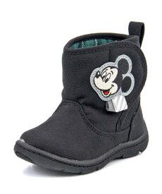 Disney ディズニー ミッキーマウス ベビー ブーツ【軽量】 DN B1238 ブラック