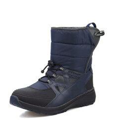 DUNLOP(ダンロップ) ALL FIELDER 005 WP【防水/滑りにくい】(オールフィールダー005ウォータープルーフ) AF005 ネイビー | ブーツ メンズ アウトドア メンズブーツ 防水ブーツ アウトドアシューズ カジュアルブーツ 防滑 シューズ 靴 メンズシューズ カジュアルシューズ