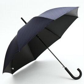 【雨傘/晴雨兼用】メンズ 高級日傘 超軽量生地 ブランド 無地 ジャンプ傘 長傘 99%以上 uvカット 紫外線遮蔽 遮熱効果 シンプル おしゃれ ブラック ネイビー 8本骨 60cm 紳士 男性 ブラックコーティング FJ167 a.s.s.a/アセント