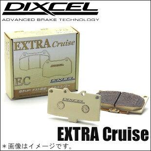 DIXCEL(ディクセル)【エリシオン 型式:RR1/RR2/RR3/RR4 年式:04/4〜】ブレーキパッドEC(エクストラクルーズタイプ/リア用)