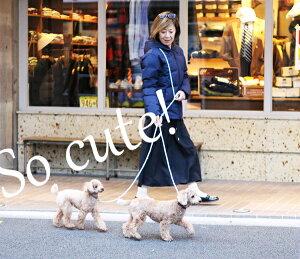 多頭ひき goldenmama両手が使える3Wayハンズフリーリード2頭びき用 小型犬用(体重約6キロ位まで) ★リードをウエスト、たすき掛けにしてご使用いただけます