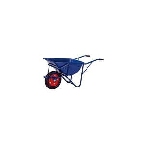 一輪車 深型 3才 ノーパンクタイヤ仕様 (輸入) 《作業・農業関連》