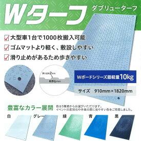 イベント用樹脂製敷板 Wターフ