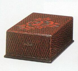 木製 国産 硯箱硯箱 半紙入れ 鎌倉彫 2E-45 B4収納 送料無料