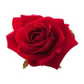 【今だけポイント10倍!】【あす楽対象】バラのコサージュ大(ガク付き)髪飾り アクセサリー ヘアアクセサリーヘアアクセ コサージュ ヘアコサージュ花 バラ 薔薇 ローズ<pin50> itm