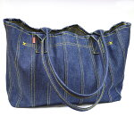 ASHOES&SUNSWORKS巻き縫いデニムトートバッグ(ROLLEDSEAMDENIMTOTEBAG)