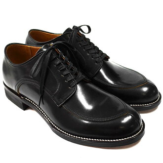 Makers V TIP BLUCHER BLACK (made in Japan)