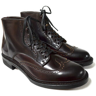 Makers BROGUE WING DARK BURGUNDY (made in Japan)
