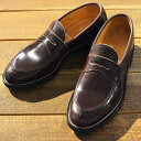 Makers メイカーズ 靴 V TIP LOAFER 15AW BURGUNDY ランキングお取り寄せ