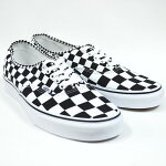 VANSバンズAUTHENTIC(MixChecker)LifestyleBlack/TRUEWHITEVN0A38EMQ9B