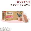 犬用 生食|ビッグドッグ 【センシティブスキン】3kg(250g12枚入) 冷凍生食 オメガ3とアミノ酸が豊富! 生のドッグフード 総合栄養食 ローフード 生肉 BIGDOG 高齢犬 シニア