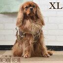 犬 ハーネス ASHUウェアハーネス 迷彩 XL 中型犬 服型 胴輪 子犬 老犬にも優しい布製ウエアハーネス【リードは別売り…