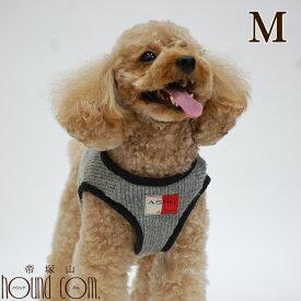 犬用ハーネス 小型犬 ウエアハーネスメッシュASHU ニットウェアハーネス Mサイズ 【リードは別売り】 秋冬モデルアッシュ 洋服の上から