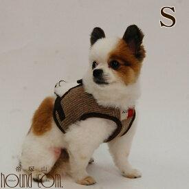 犬用ハーネス 小型犬 ASHU ニットウェアハーネス Sサイズ 【リードは別売り】 ハーネス ブランド 胴輪 ベルト犬のハーネス 犬用服 かわいい 犬用 犬の服 ウエアハーネスソフト メッシュ 抜けない シンプルアッシュ 洋服の上から