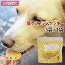 【6月限定】オリジナルクッキー 腎ケアプラス 5袋+1袋セット なた豆 クルクミン配合の国産おやつ トリーツ 犬用 クリスマス お菓子