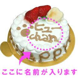 愛犬用ケーキHappyDayケーキ/6号/ささみ犬誕生日ケーキバースディケーキ【マラソン1106P05】