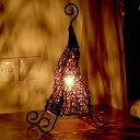 アジアン照明 ラタン編みピクシー アジアン ランプ[10061]【アジアンランプ スタンド 照明 フロアライト フロアランプ…